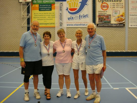 Club Medal winners