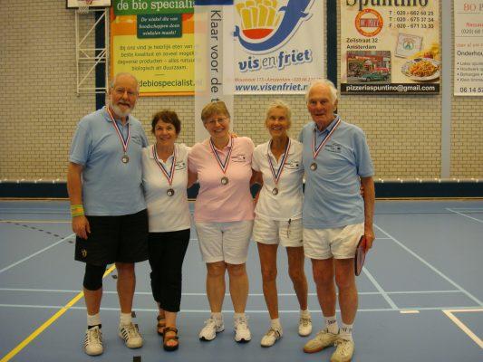Club Medal winners