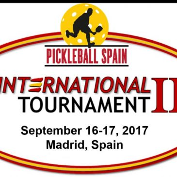 Spain 2017 Pickleball Tournament
