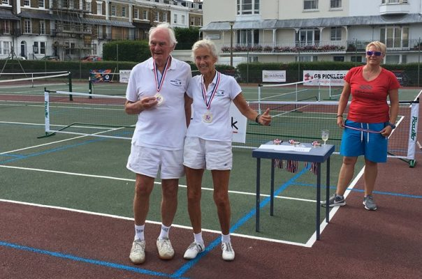 UK's Oldest Pickleball Partners
